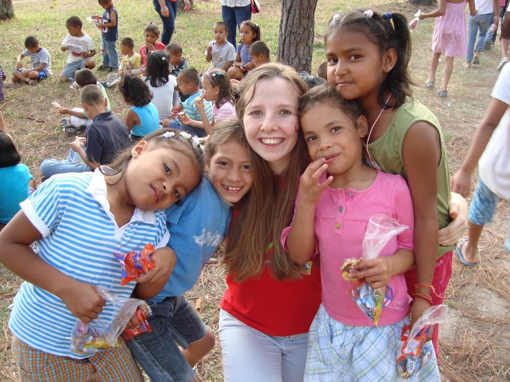 Mit den Kindern von N.P.H.