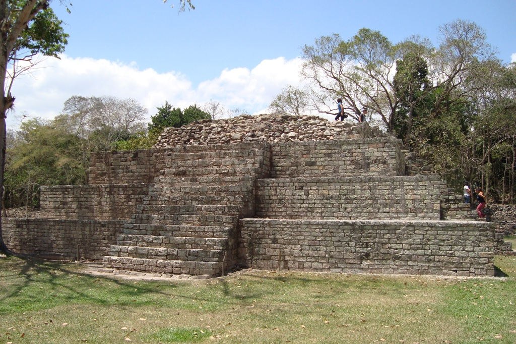 Maya-Tempel in Copán