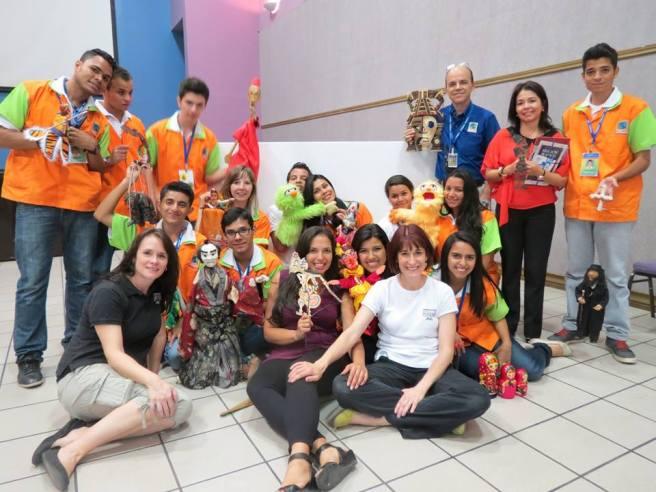 Marionetten-Workshop in Chiminike