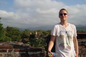 Tryg geniesst die Sonne auf San Fernando