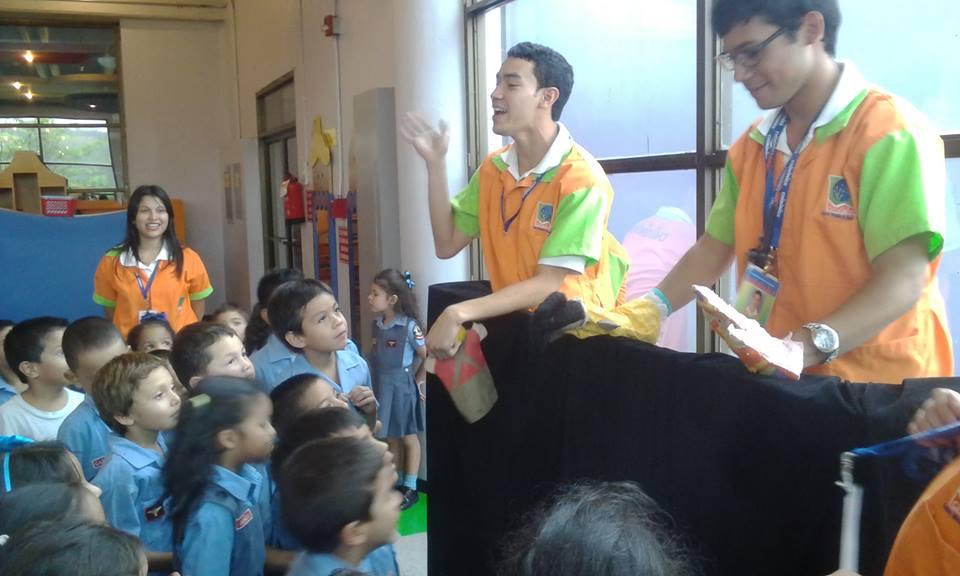 Puppentheater mit Milovan und Jorge