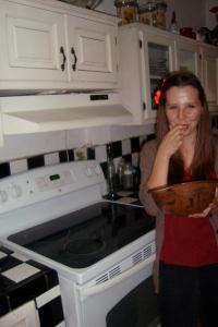 Das schönste am Kuchenbacken...!